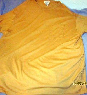 Camiseta marrón arena Algodón