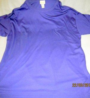 Camiseta violeta oscuro