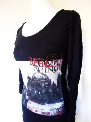 Trendiges Langarm-Shirt mit Berlin-Print