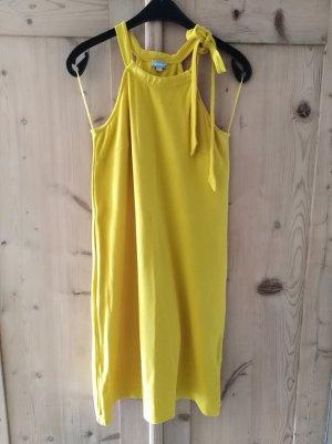 trendiges schulterfreies Kleid von hessnatur, Gr. 36