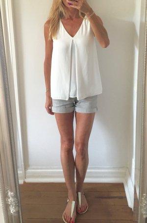 trendiges weißes Sommertop von H&M * Gr. S * NEU!