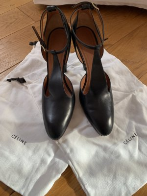 Celine Mary Jane Pumps black