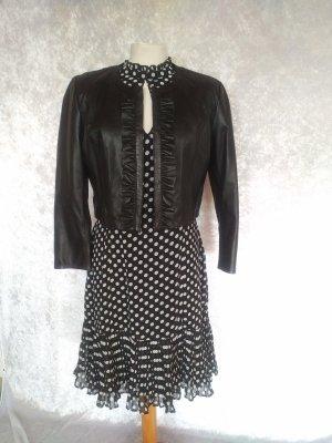 brand new 2e309 97cc6 Guido Maria Kretschmer Midi Dress white-black polyester