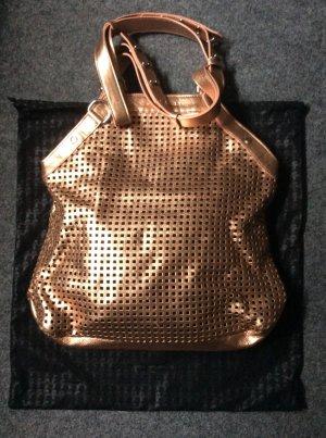 Trendtasche in Rosé/Kupfer von Karl Lagerfeld