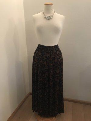 Betty Barclay Plaid Skirt black-brown