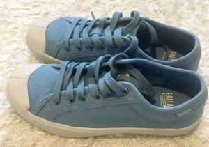 Trendy Canvas Sneakers hellblau von Palladium Gr. 37 wie Neu
