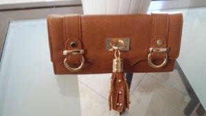 Trendy Geldbörse von Accessorize Cognac mit Quasten NEU LP 49,-