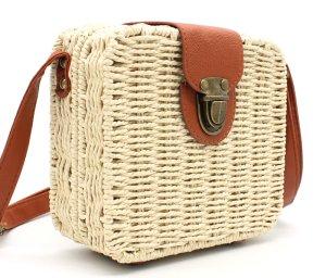 Shoulder Bag natural white-brown