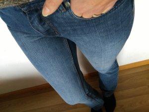 Trendy Jeans in 36, tolle Waschung Gratis Bluse/Pullunder/Tuch/cap dazu