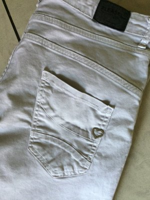 TRENDY JEANS VON PLEASE Made in Italy grau 42