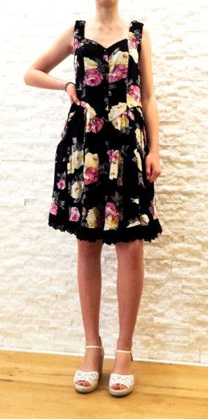 Trendy Kleid mit romantischen  Blumenprint, Gr. 36