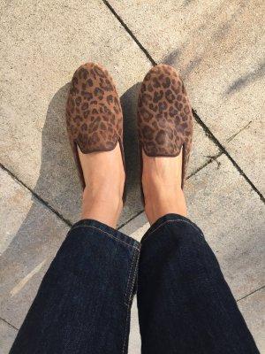 Trendy Leoparden Slipper