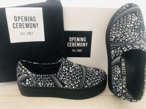 Trendy opening ceremony slip on shoes