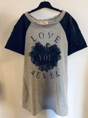 Trendy Print-Shirt von Deby Debo