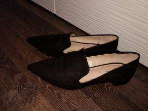 Trendy schwarze Halbschuhe von Zara