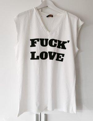 Trendy Shirt im Destroyed Look von Hollywood Trading Company HTC Gr. S wie Neu