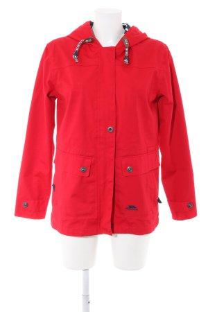 Trespass Raincoat red casual look