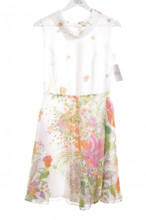 Trevira Midi Dress flower pattern elegant
