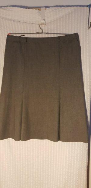 Trevira Wollen rok grijs Scheerwol