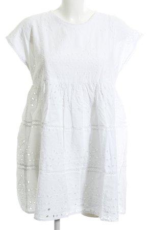 TRF Babydoll-jurk wit elegant