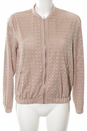 TRF Giacca bomber rosa stile casual