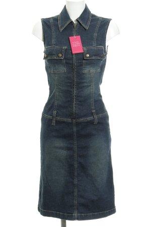 TRF Denim Jeanskleid dunkelblau Casual-Look