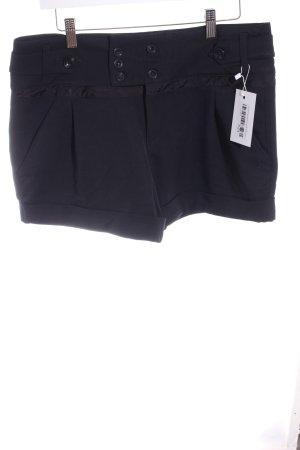 TRF High-Waist-Shorts schwarz Business-Look