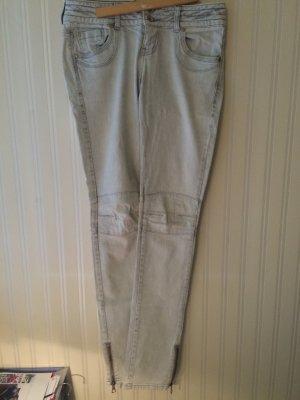 TRF Jeans in hellem Grau
