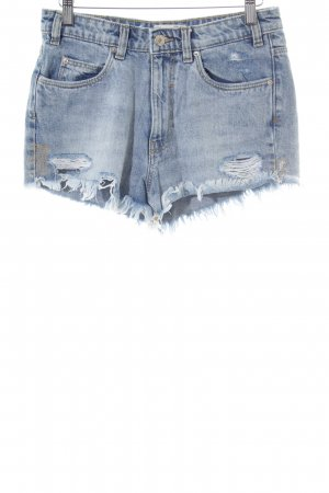 TRF Jeansshorts himmelblau Casual-Look