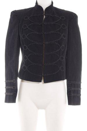 TRF Kurz-Blazer schwarz Elegant