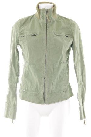 TRF Short Jacket green casual look