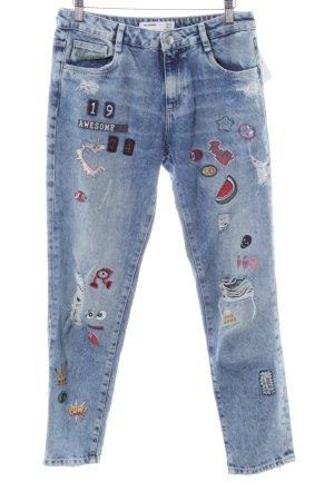 TRF Slim Jeans blau Casual-Look