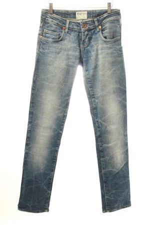 TRF Slim Jeans stahlblau Casual-Look