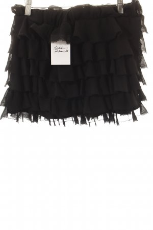 TRF Broomstick Skirt black casual look