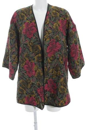 TRF Between-Seasons Jacket floral pattern extravagant style