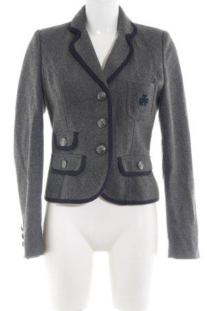 TRF Wool Blazer light grey elegant