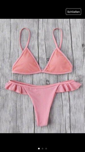 Bikini rosa-rosa claro