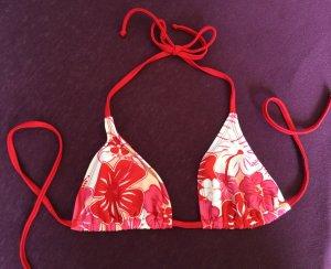 Triangel-Bikinioberteil mit Blumenmuster *NEU* 75A/B