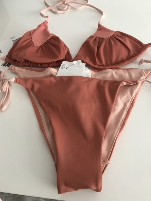 H&M Bikini albaricoque-salmón