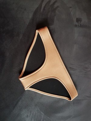 Triangl Bikini Neopren Hose in Bronze / Gold