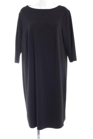 Triangle Langarmkleid schwarz Elegant