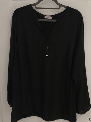 Triangle (S'Oliver) Bluse, schwarz in Größe 52
