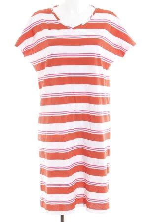 Triangle Shirtkleid Streifenmuster sportlicher Stil