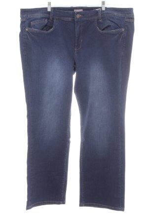 Triangle Slim Jeans dunkelblau Casual-Look