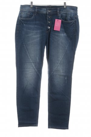 Triangle Straight-Leg Jeans dunkelblau Casual-Look
