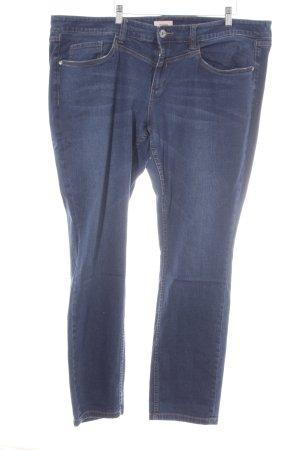 Triangle Straight-Leg Jeans dunkelblau Casual-Look