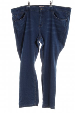 Triangle Straight-Leg Jeans blau Casual-Look