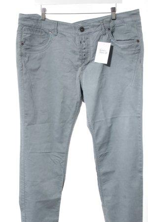 Triangle Jeans coupe-droite gris ardoise style décontracté