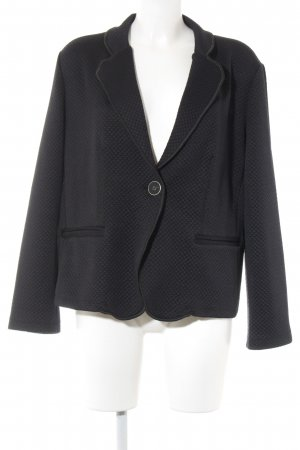 Triangle Woll-Blazer schwarz Steppmuster Casual-Look