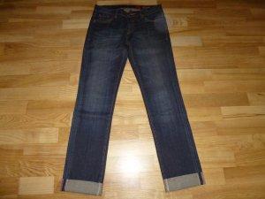 Tribeca New York Jeans coupe-droite bleu coton